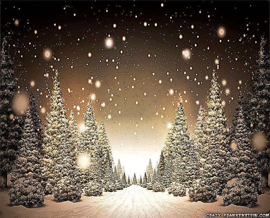 read online snow trees christmas background 1 hd wallpapers