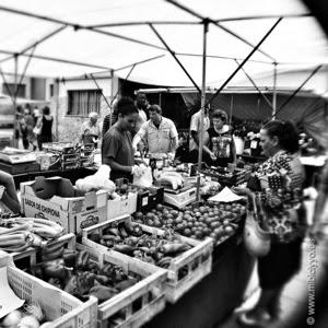 Fruteria en la Plaza del mercado pere garau