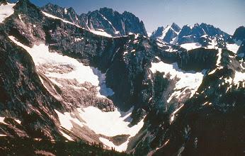 Photo: 9. Picket Range, from Easy Ridge.