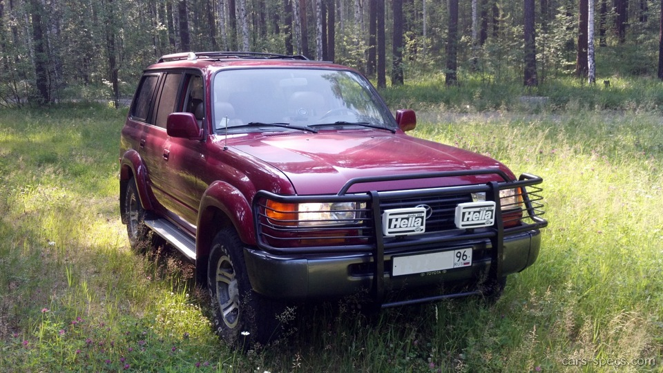 Toyota Land Cruiser Suv Specifications Pictures Prices