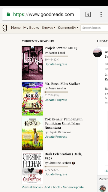Goodreads - Currently Reading