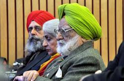 Gobinder Singh, Deepak Chopra and Brig Gurbax Singh