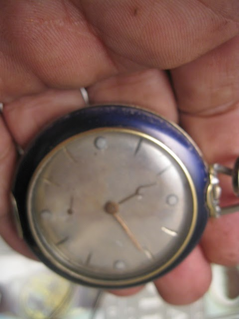 RARE INVICTA POCKET W MARKSMAN BADE + 1946 JAPAN COVER - IMG_8651.JPG