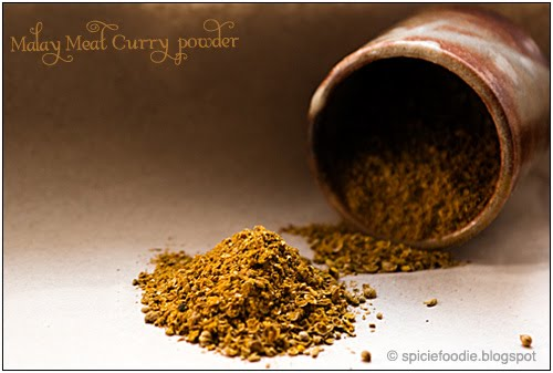 Malaysian Meat Curry Powder by Spicie Foodie | #curry #spices #malaysian #meatcurry