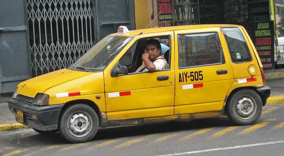 taxi no peru