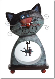 cat and mouse clock allen design