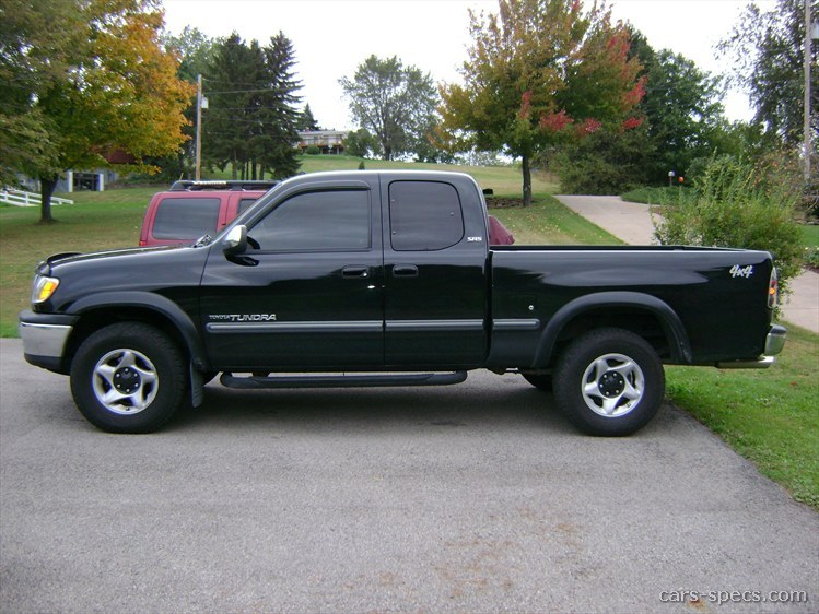 2002 Toyota Tundra SR5 Extended Cab Pickup 3.4L V6 4 Speed Automatic 6.2  Ft. Bed