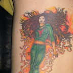 back - Jean Grey X-Men Tattoos Pictures