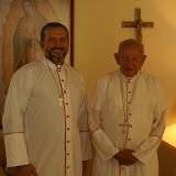 Visita al Obispo Szymanski