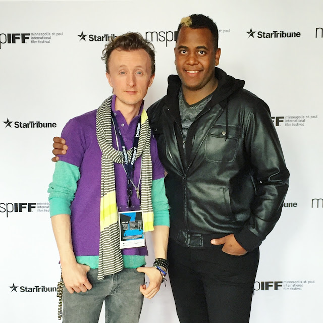 Actor Paul Cram with Brother Musician Isaiah Cram at MSPIFF Festival