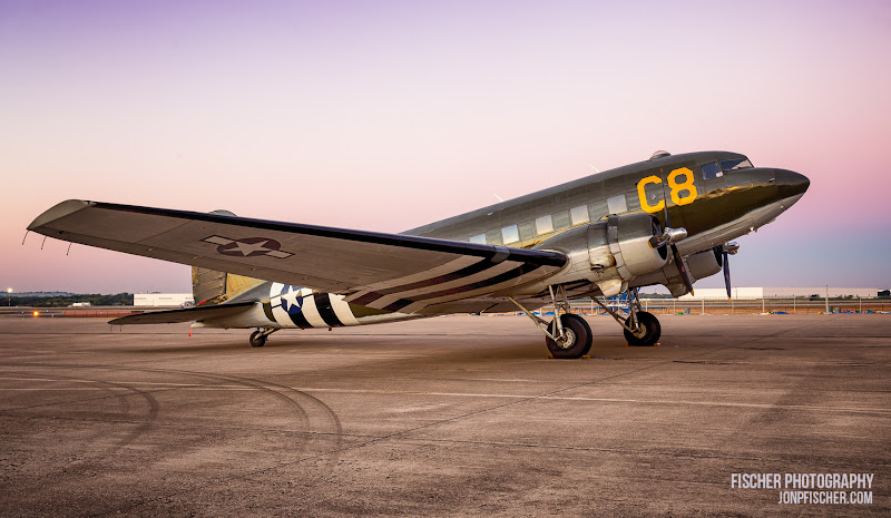 C-47 quarter view
