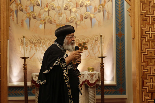 His Holiness Pope Tawadros II visit to St. Mark LA - _MG_0530.JPG
