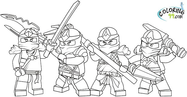 Free Printable Ninjago Coloring Pages For Kids Lego City Police