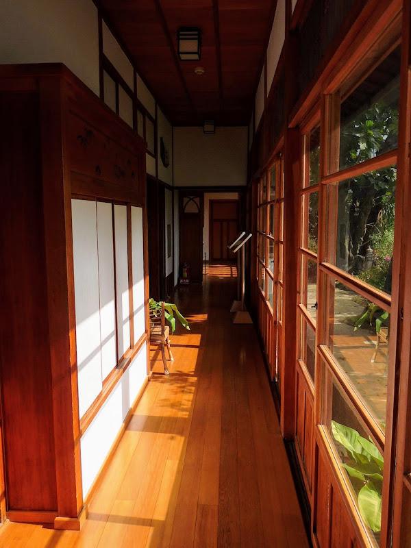 TAIWAN.Taipei .Maison japonaise vers Beitou et Musée National de Taipei à côté du Peace park - P1060351.JPG