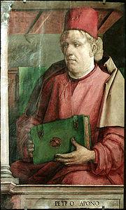Peter De Abano Portrait, Peter De Abano