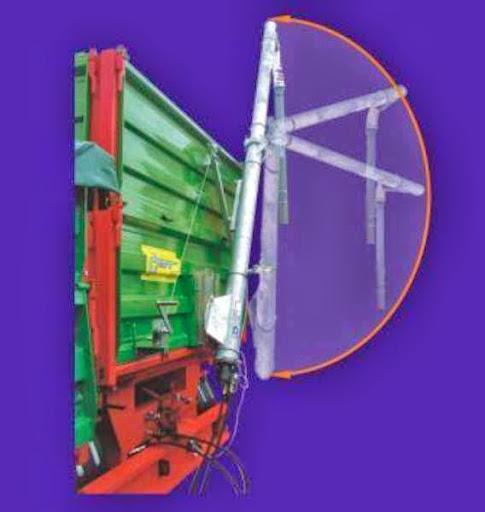SINFIN PLEGABLE abatible hidráulico para abonos y  - Foto 1