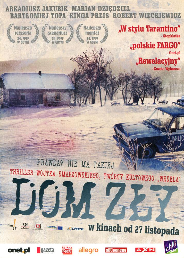 Ulotka filmu 'Dom Zły (przód)'