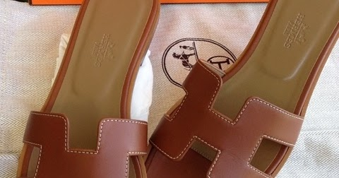1c01a149a632 GRACIE HOUR  (N A) Hermes Brown Gold Leather Sandals