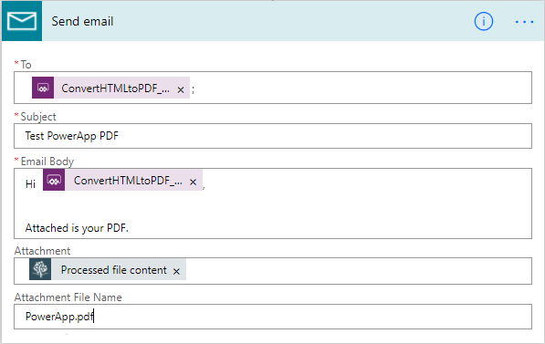 PowerApp-PDF-FlowEmail