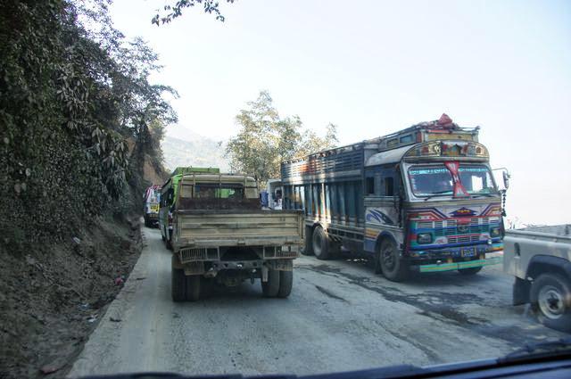 達人帶路-環遊世界-尼泊爾PoonHill健行-還是塞車