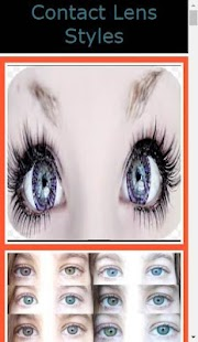 Contact Lens Styles - náhled