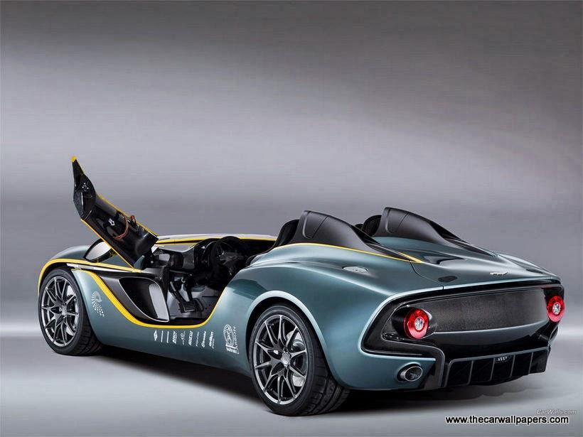 Aston Martin CC100 Speedster Concept 2013