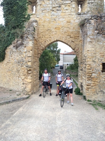 Tour de Rêves charity bike ride Deux-Sèvres Day Four Parthenay to Thouars French Village Diaries