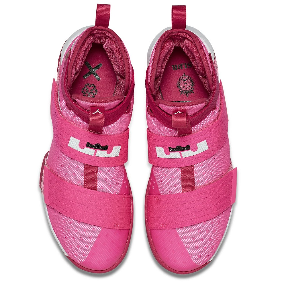 on sale 6c6b2 29f8d ... Add Think Pink Kay Yow Into the LeBron Soldier 10 Mix