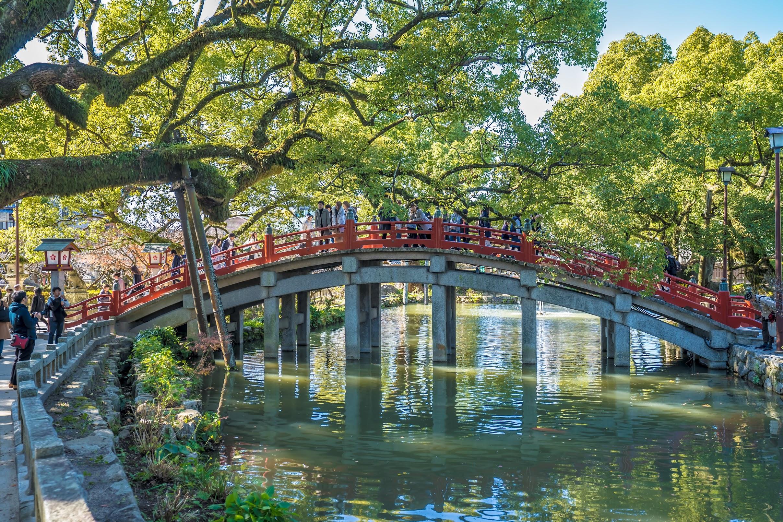 Dazaifu Tenmangu Taiko-bashi bridge