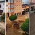 أمطار غزيرة وفيضانات تمنع السكان من الوصول الى مساكنهم في مقاطعة سالزبورغ