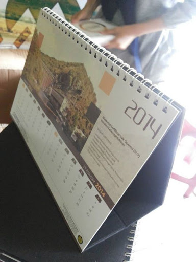 Cetakan Kalender