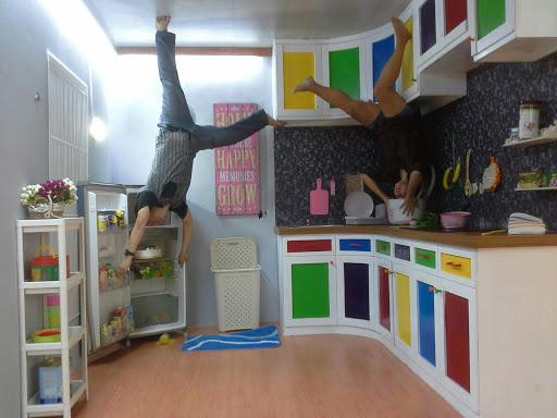 Uniknya Rumah Terbalik Upside Down World Di Bandung
