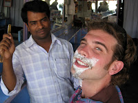 Shave in Pokhara