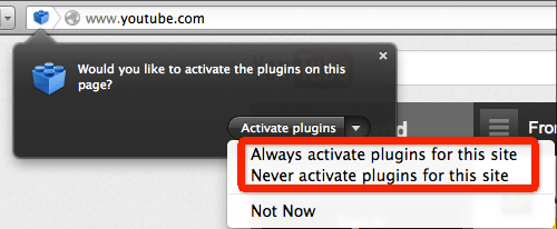 The 'Click to Play' Feature in Firefox