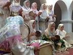 Grupo de mujeres Hadra durante su actuación