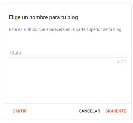 como crear un blog utilizando blogger