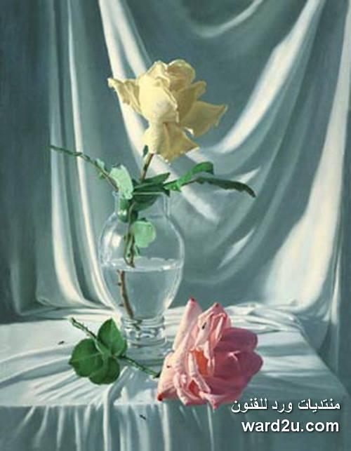 عبق الورد فى روائع كلاسيكيات الفنان Alexei Antonov