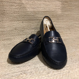 Salvatore Ferragamo NEW Dark Blue Loafers