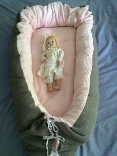 Een Cozy Babynest gemaakt voor de baby