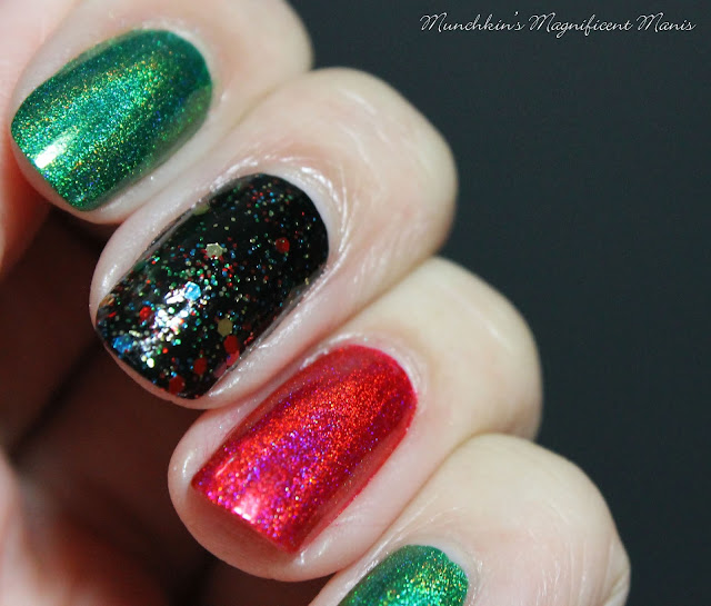 Christmas Nail Color Combo
