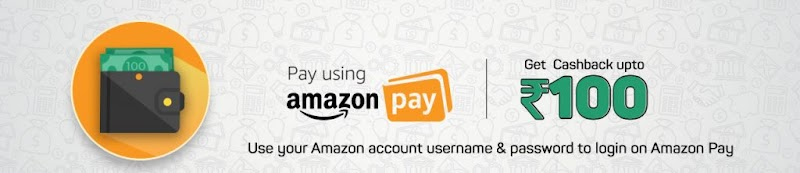 Amazon - Get 50% Cashback Upto Rs.150 On Movie Tickets Using Amazon Pay