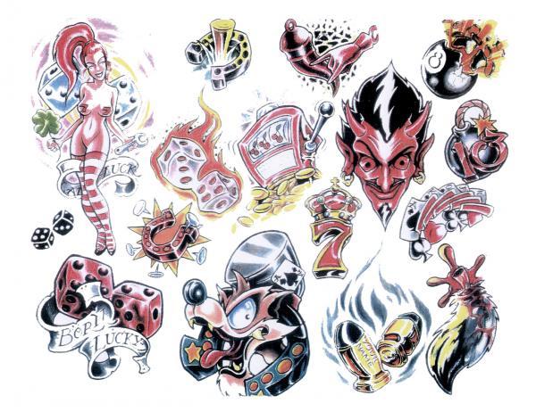 Design Of Mysterious Tattoo 4, Fantasy Tattoo Designs