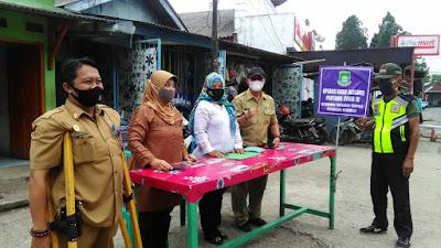 kelurahan Pabuaran Tumpeng Gencar Operasi Aman Bersama