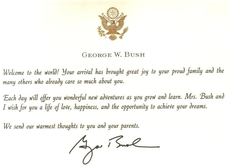 Birthday Cards – Birthday Cards from the President