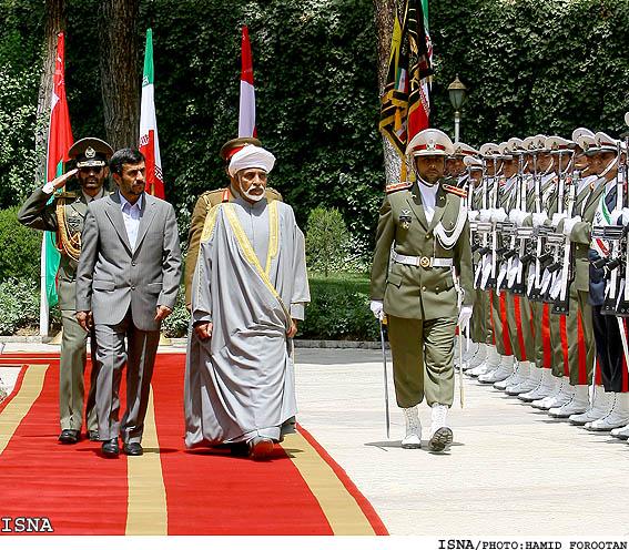 Oman - Sultan in Iran