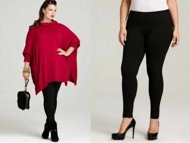 Hi fashion online!: Plus Size Style Tips: Choosing Leggings