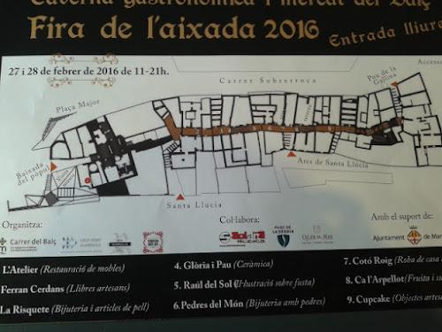 Ferran Cerdans al Mercat del Balç, Carrer Medieval del Balç, Fira de l'Aixada, Manresa