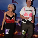 OIC - ENTSIMAGES.COM - Two of the oldest walkers Mary Yeates and Paul Freedman MBE at the The MoonWalk London 16th May 2015 Photo Mobis Photos/OIC 0203 174 1069