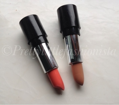 Famous cosmetics lip addict raw and pillow talk