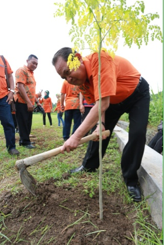 Walikota Mojokerto Canangkan Kelorisasi